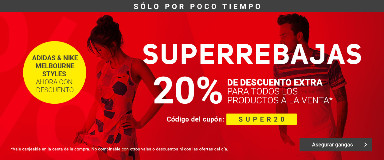 Superrebajas -20%