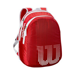 Junior Backpack Red White
