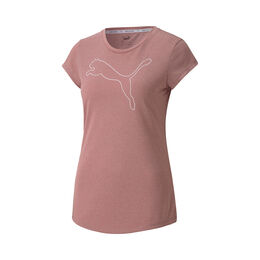 Active Logo Heather Tee Women