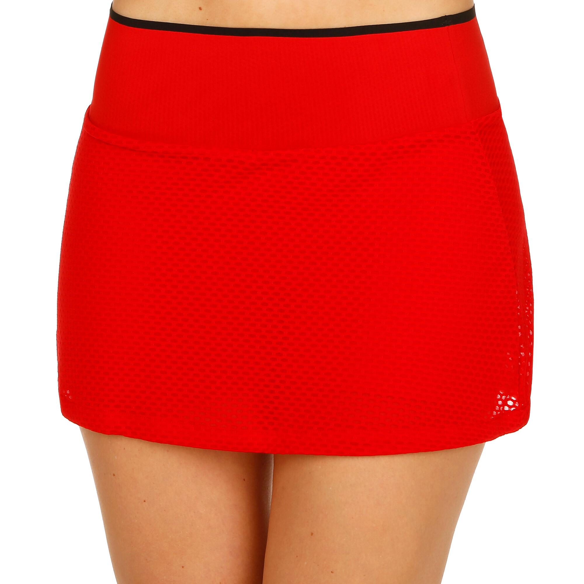 bab580211 adidas Barricade Falda Mujeres - Rojo, Negro compra online | Tennis ...