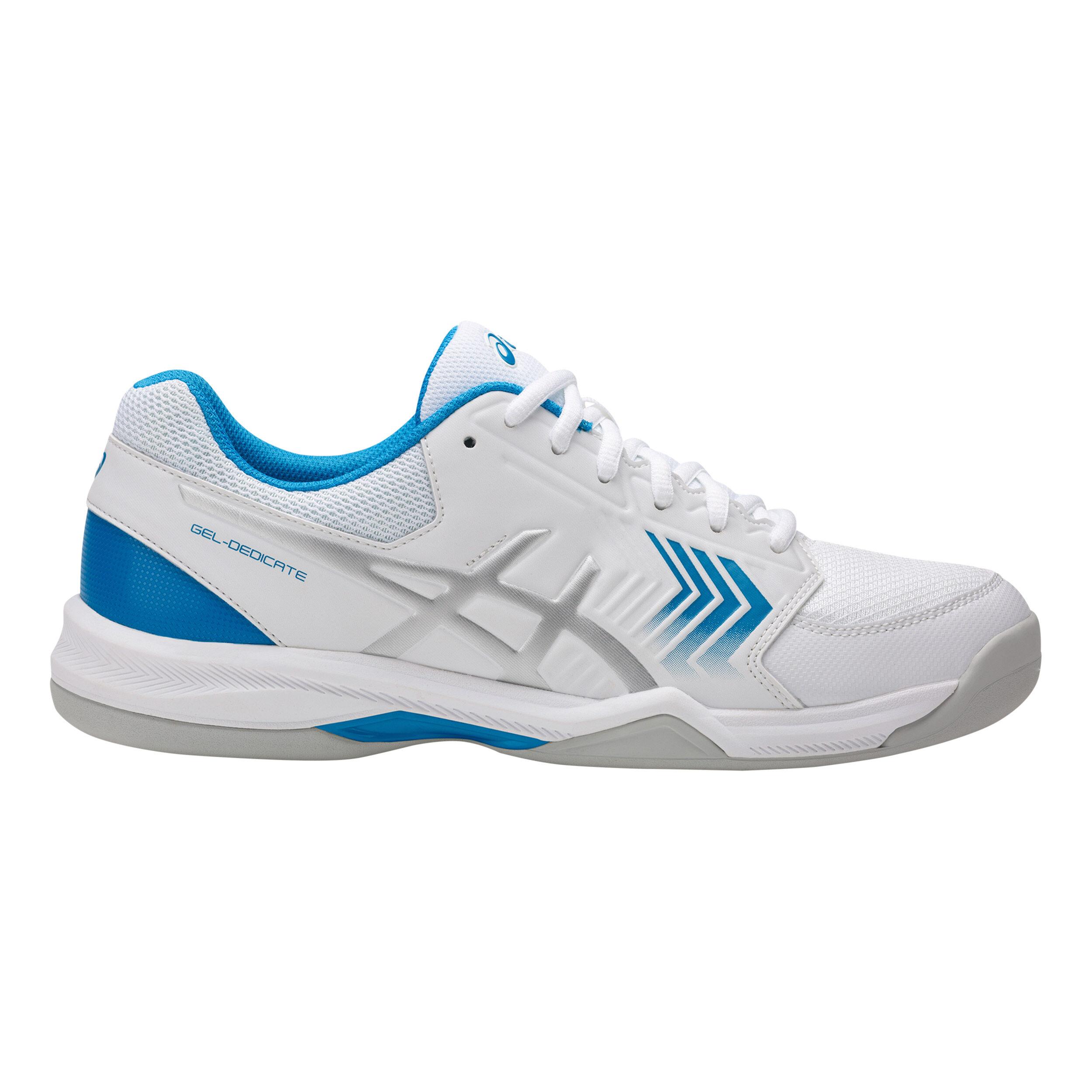 blanco gel dedicate 3 indoor zapatilla de tenis ventas de
