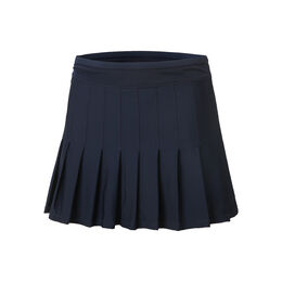 Long Retro Pleated Skirt Women