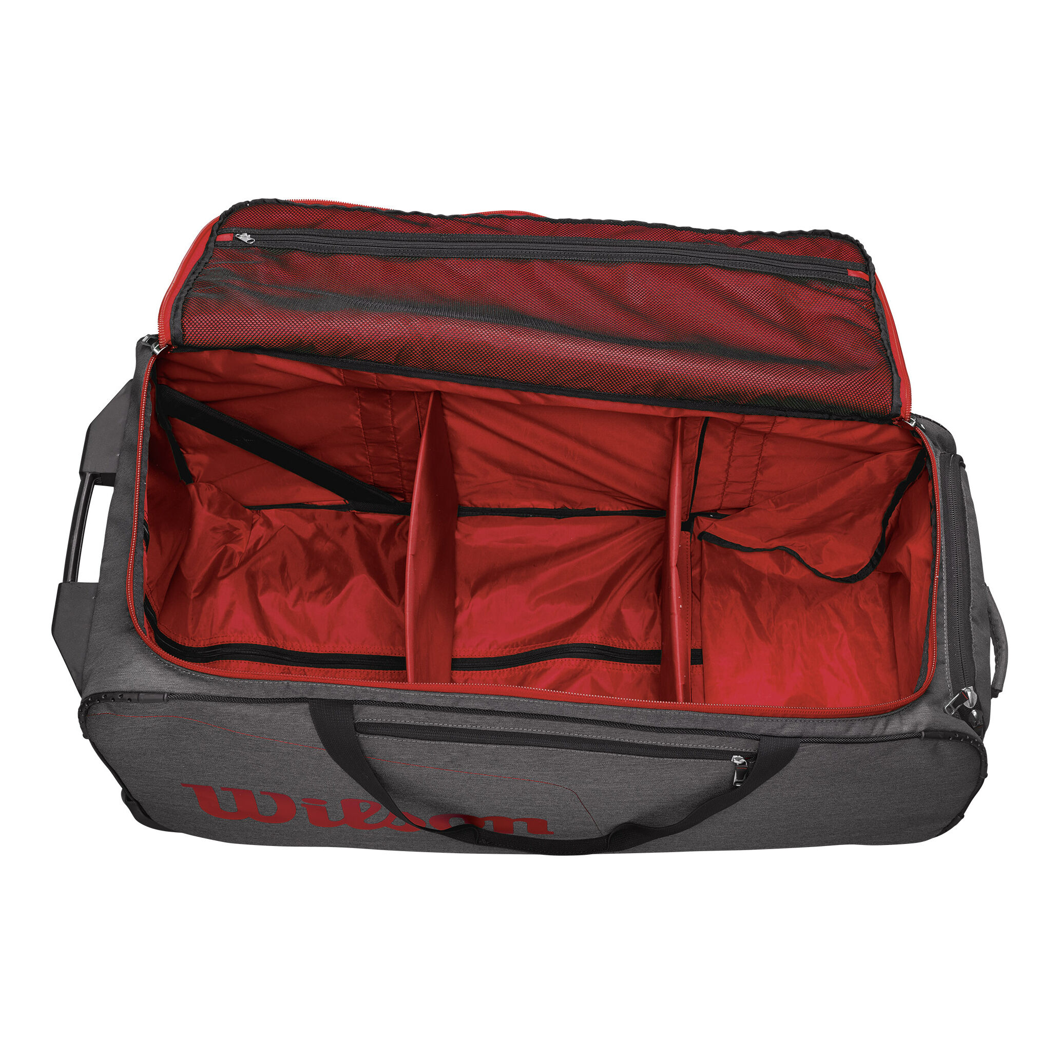 Wilson De Viaje Tour Traveller Bolsa GrisRojo Bag vmNn8wO0