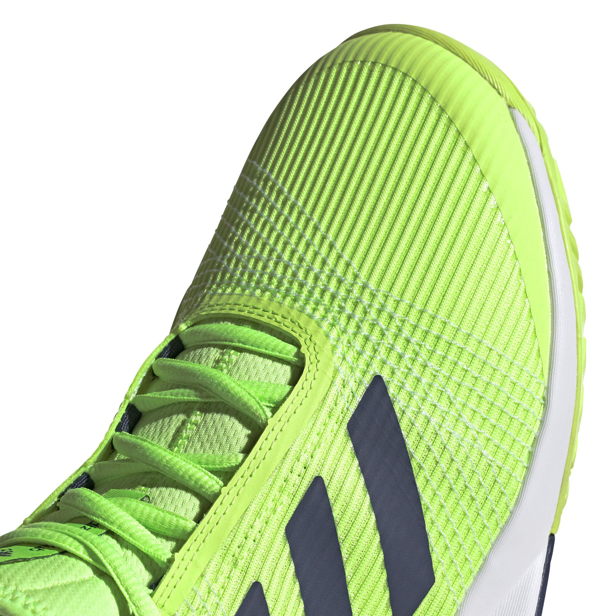 adidas adizero club verde zapatillas tenis hombre