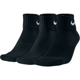 Performance Cushion Quarter Training Sock 3-Pack