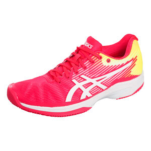 Asics Solution Speed FF Zapatilla Todas Las Superficies Mujeres - Rosa, Blanco