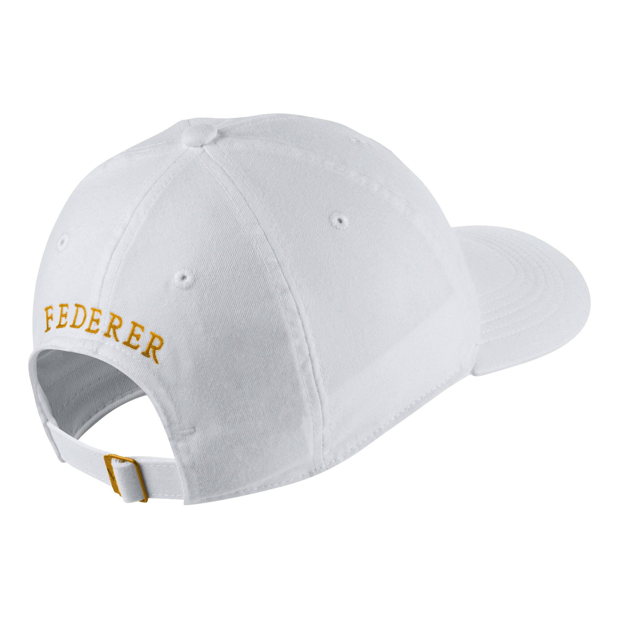 Refinería Ingenieros regular  Nike Roger Federer 20th Celebration Gorra - Blanco, Dorado compra online |  Tennis-Point