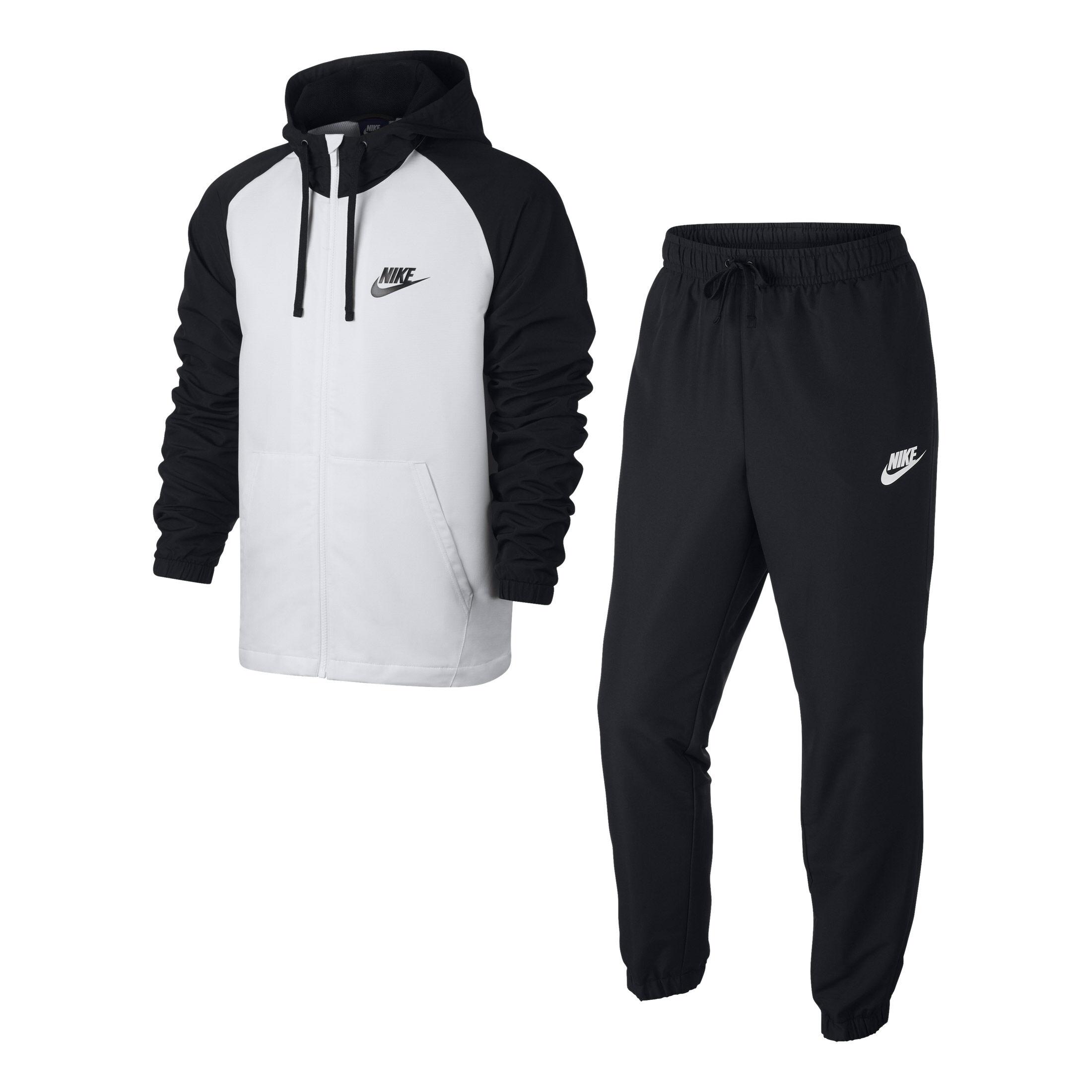 Nike Chándal Hombres - Negro, Blanco compra online | Tennis ...
