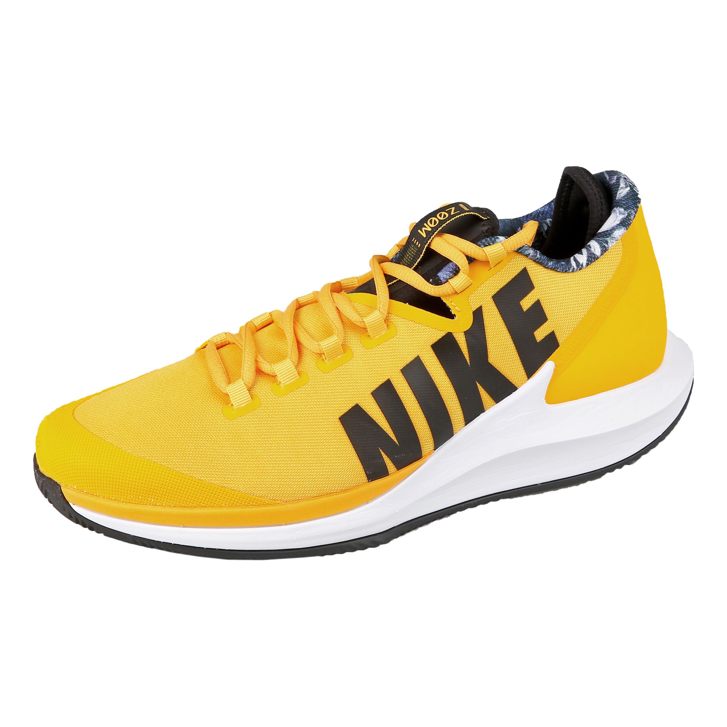 Nike Air Zoom Zero Clay Zapatilla Tierra Batida Hombres Amarillo Oro, Negro
