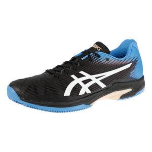 Asics Solution Speed FF Clay Zapatilla Tierra Batida Hombres - Negro, Azul