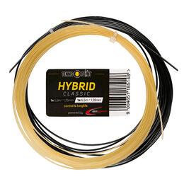 Hybrid Classic 2x6,5m natur, schwarz