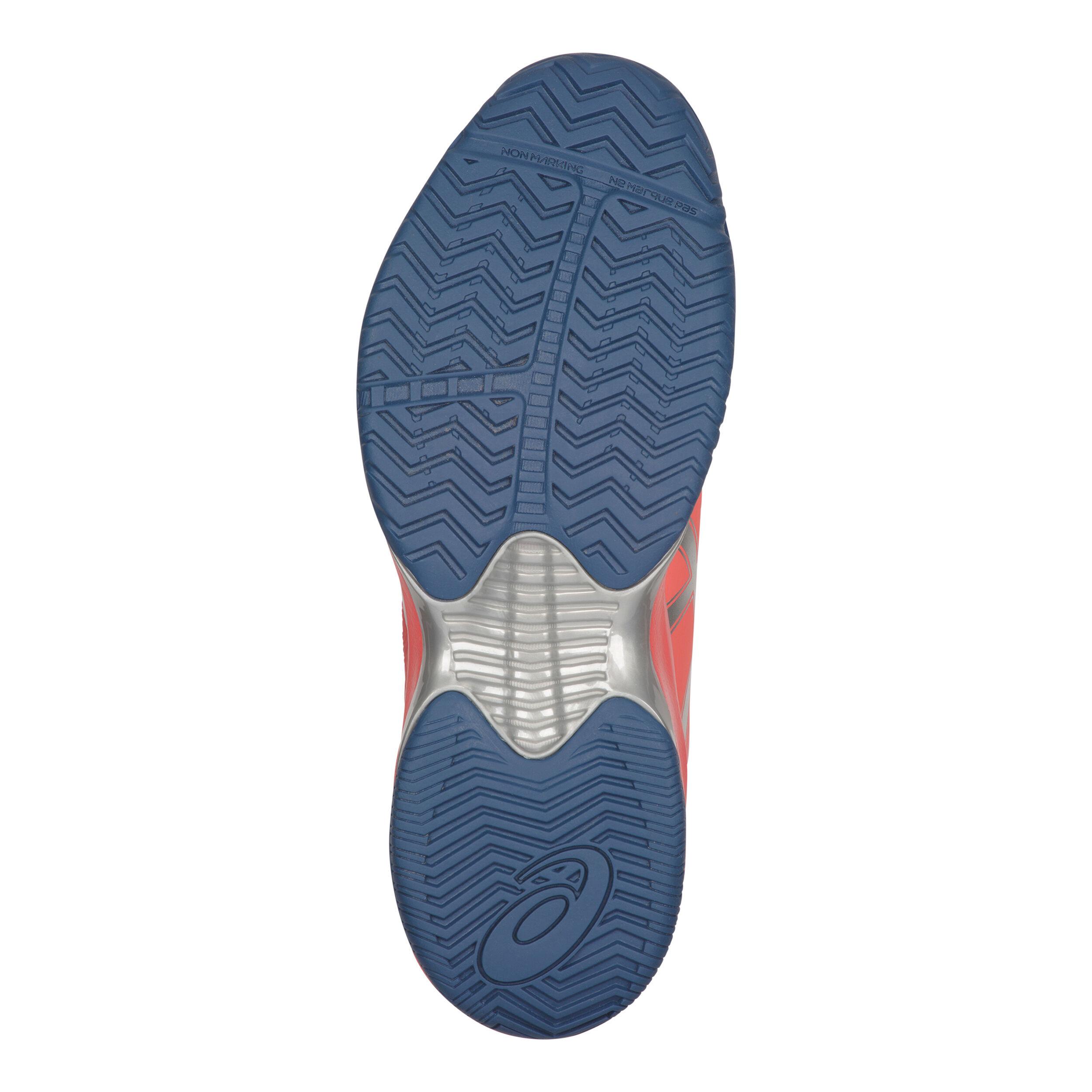 Asics Gel Court Speed Zapatilla Todas Las Superficies Mujeres Coral, Azul Oscuro