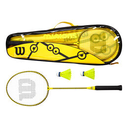 MINIONS BADMINTON SET (2 Rkts/2 Nylon Shuttlecocks)