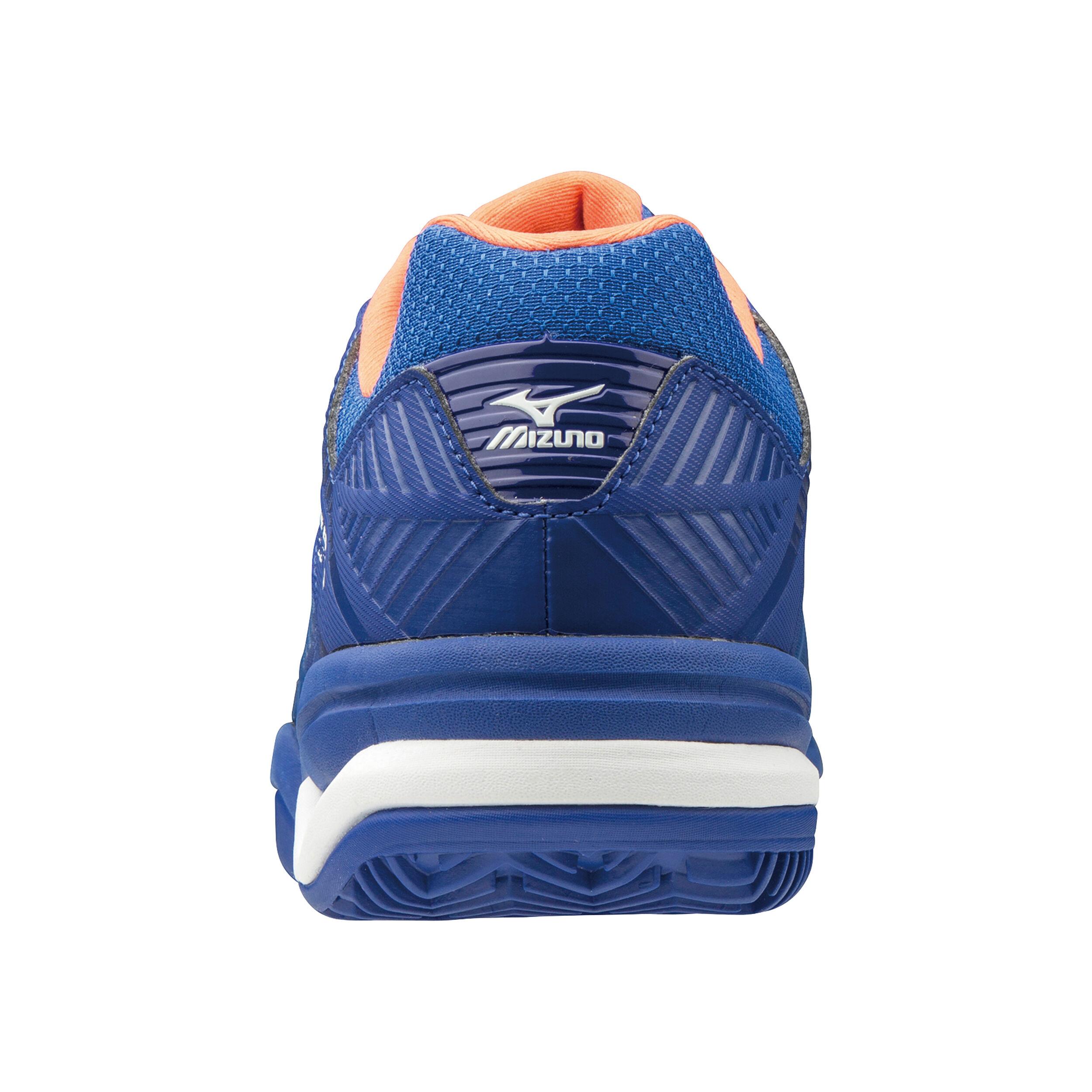Azul Mizuno Wave Exceed Tour 3 CC 47 EU Zapatillas de Tenis para Hombre Reflex Blue//White//Nasturtium 27
