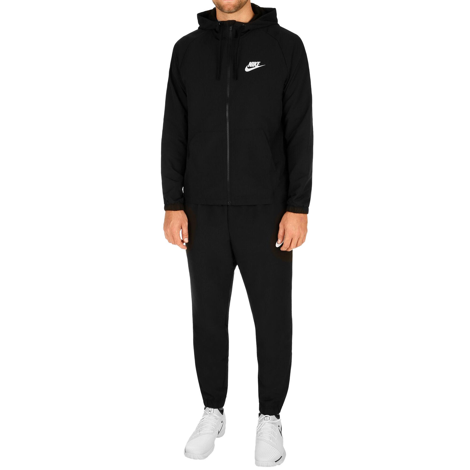 demasiado Secretario crucero  Nike Chándal Hombres - Negro, Blanco compra online | Tennis-Point