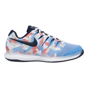 Nike Air Zoom Vapor X Clay Zapatilla Tierra Batida Mujeres - Azul Claro, Coral