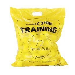 Training 72 Bälle im Beutel (druckloser Tennisball)
