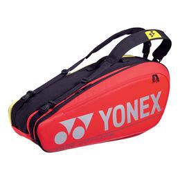 Pro Racquet Bag 8 pcs red