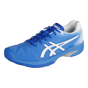 Asics Solution Speed FF Clay Zapatilla Tierra Batida Mujeres - Azul, Blanco