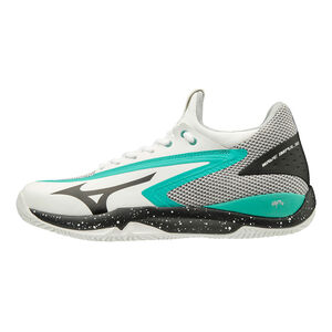 Mizuno Wave Impulse Clay Zapatilla Tierra Batida Hombres - Blanco, Multicolor