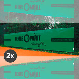 2x Tennisplatz Standardsichtblende