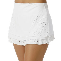 Eyelet Tier Skirt Women
