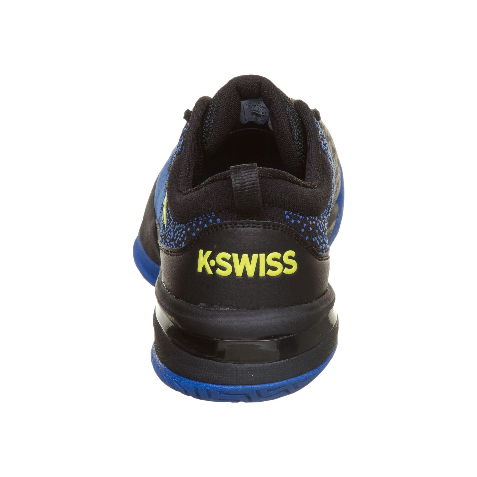 7e6130d58 K-Swiss Knitshot Zapatilla Todas Las Superficies Hombres - Negro ...