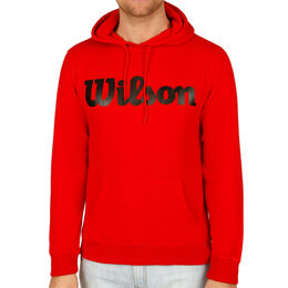 Script Cotton Po Hoody Men