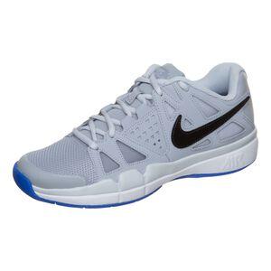 Nike Air Vapor Advantage Carpet Zapatilla Para Pista Cubierta Mujeres - Gris Claro, Azul