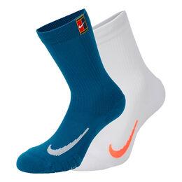Court Multiplier Cushioned Socks 2PR