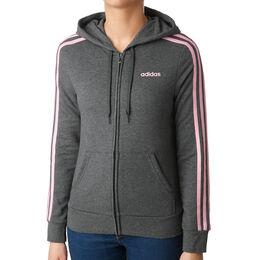 Essentials 3-Stripes Full-Zip Hoodie Women