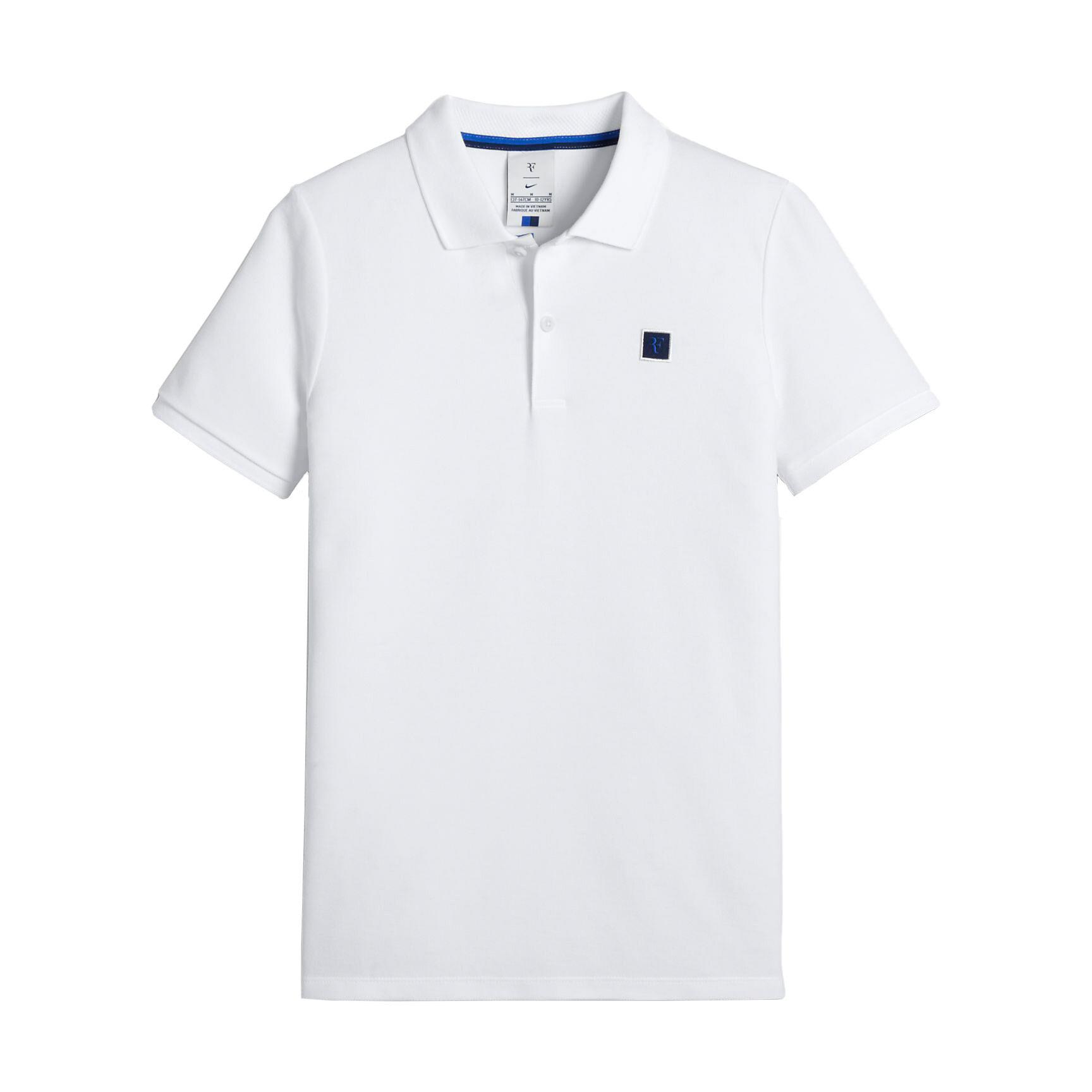 Polo Nike Court RF Essential Tenis Blanco