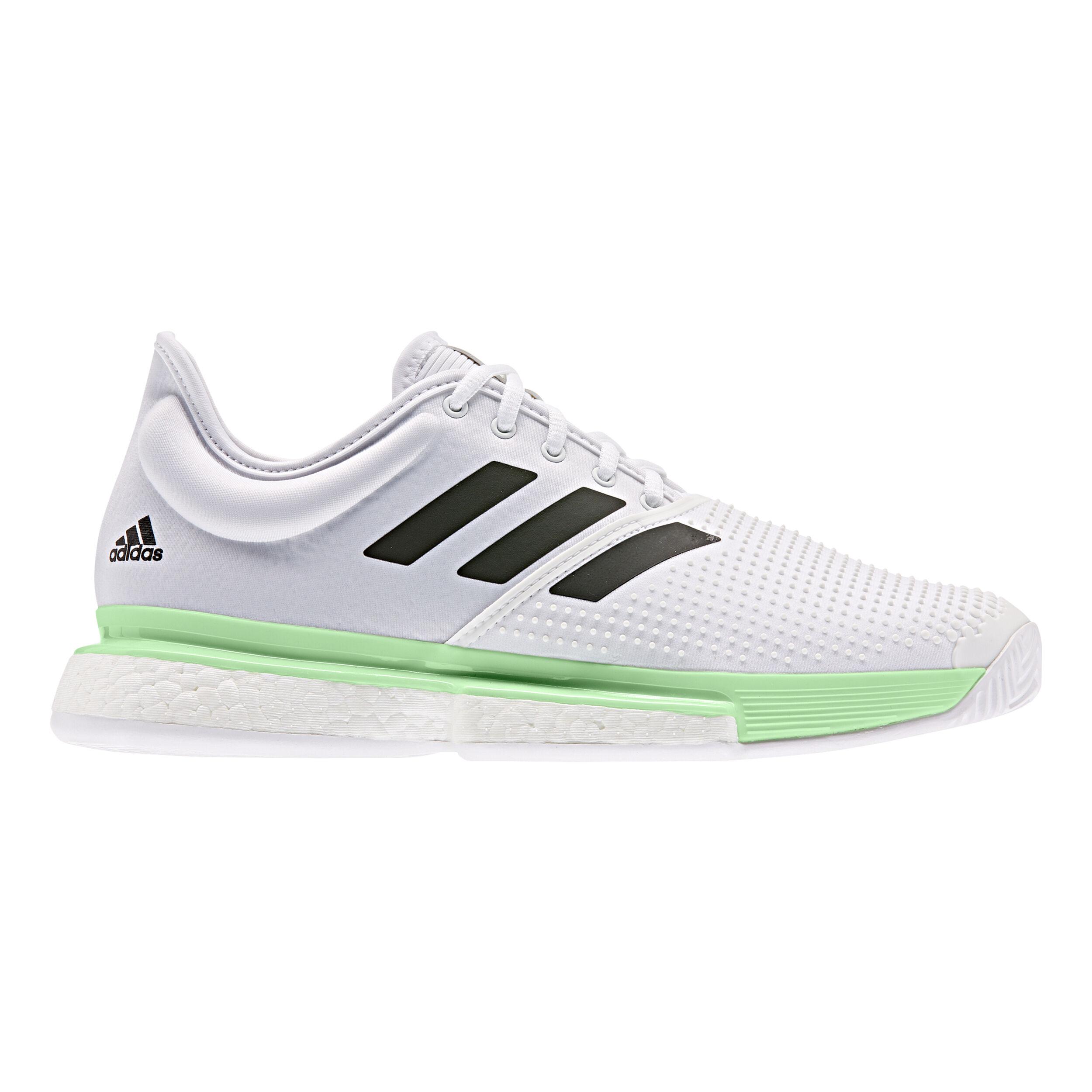 adidas Sole Court Boost Mujer Zapatillas de tenis verde