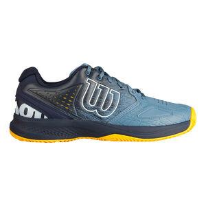 Wilson Kaos Comp 2.0 CC Zapatilla Tierra Batida Hombres - Azul, Negro