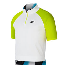 Nike Court Slam Men 1/2 Zip Tennis Polo