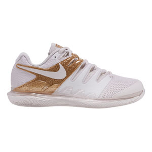 Nike Air Zoom Vapor X Zapatilla Todas Las Superficies Mujeres - Blanco, Dorado